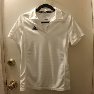 ADIDAS Climalite women's white polo